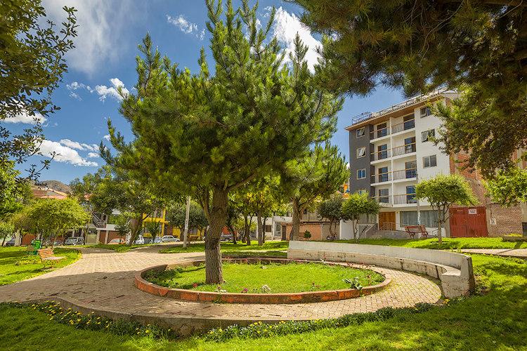 La ubicación de Muru Homely Hotel